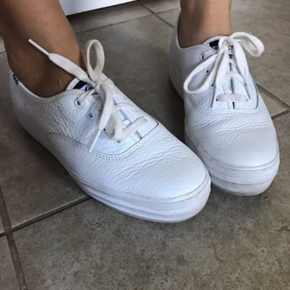 Keds Shoes | Well Worn White Womens